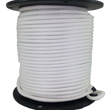 16mm x 100m Polyester Rope Double Braided White - 7150kg Sailing Mooring Yacht