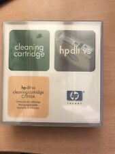 HP C7998A DLT VS80 & DLT-1 Cleaning Cartridge. New & Unused. Free 1st Class Post
