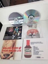 ROLLING STONES CD STICKY FINGERS LIVE 20/05/2015 LOS ANGELES SEXY NUDE COVER
