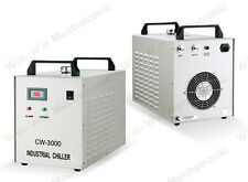 CW-3000AF Industrial Water Chiller For 0.8KW/1.5KW CNC Engraver Machine 220V