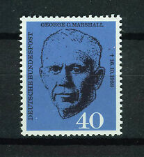 ALEMANIA/RFA WEST GERMANY 1960 MNH SC.821 George C.Marshall,stateman, general US