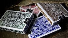 4 Decks Bicycle Heritage Series Theory11 Playing Cards Lotus Nautic Acorn Red