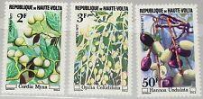 UPPER VOLTA OBERVOLTA 1977 671-73 Wildwachsende Früchte Fruits Flora Plants MNH