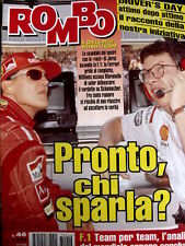 Rombo 46 1997 Michel Schumacher - Analisi team F1 mondiale concluso [R2]