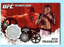 """2010 Topps Ufc """"Ultimate Gear"""" Rich Franklin Event Used"""