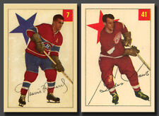Gordie Howe #7 and Maurice Richard #41 Reprint, 1954-55 Parkhurst Mint and Sharp
