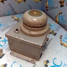ADAPTABEL EDWARDS 340-4G5 ADAPTABLE AC VIBRATING BELL ENCLOSURE