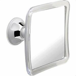 Fogless Shower Mirror for Shaving with Upgraded Suction, Anti Fog Shatterproof