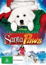 The Search for Santa Paws * NEW DVD * (Region 4 Australia)