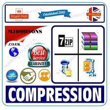 More details for zip unzip unrar archiving software rar winrar winzip 2021 edition + cd
