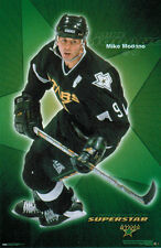 Vintage Original MIKE MODANO SUPERSTAR Dallas Stars NHL Hockey Poster (2000)