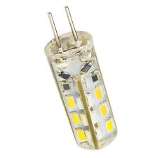 10 pcs G4 Home 3014SMD LED light lamp Warm White Silicone Crystal Slim 12V1.5W