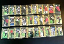 TIGER WOODS ROOKIE 2001 Upper Deck Tiger's Tales COMPLETE 30 card SET QTY AVAIL!