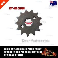 Unbranded Black Motorcycle Chains, Sprockets and Parts