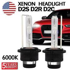 2X 55W D2S D2R D2C HID XENON HEAD LIGHT BULBS LAMP LOW BEAM 6000K Diamond White