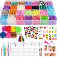 17,000+ Mega Refill Loom Set for Kids Bracelet Weaving Diy Crafting Kit with Rai