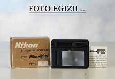 NIKON FOCUSING SCREEN FOR FE TYPE B COME NUOVO ORIGINALE MADE IN JAPAN