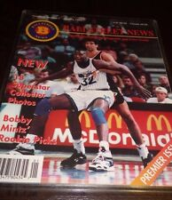 Ballstreet News Magazine Jan 1993 Vol 1 # 1 Premier 18 Uncut Cards Jordan Shaq