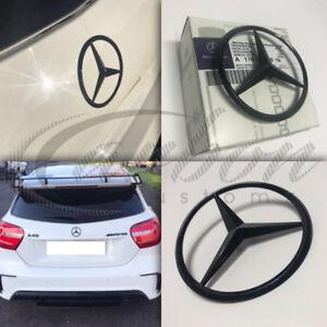 Mercedes-Benz Clase A Original OE Brillo Negro Trasero Star Insignia A1768170016