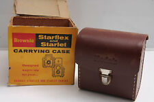Kodak 25/23C Starflex Starlet Starmeter Field Case - RUSTY CRACK - VINTAGE K12E