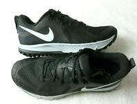 Nike Mens Air Zoom Wildhorse 5 Trail Running Shoes Black Thunder Grey Size 8
