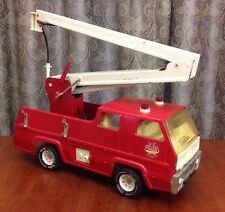 Vintage 1960s-70s Tonka Snorkel Hose Firetruck metal classic toy USA FIRE TRUCK