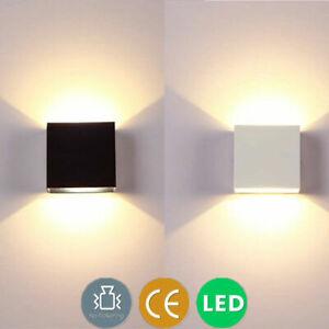 6W 12W COB LED Wandleuchte Wandlampe Flur Strahler Licht Up Down Innen Leuchten
