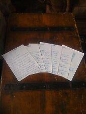 Elvis Presley replica, 6 page hand written letter to President Nixon