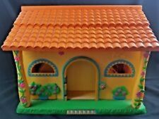 Dora the Explorer Talking Play Dollhouse Pop Up 3 Compartment Doll House