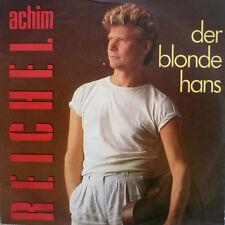 """7"""" 1986 RARE IN MINT-! ACHIM REICHEL : Der blonde Hans"""