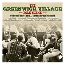 The Greenwich Village Folk Scene - 60 Songs From American Folk Revival (3CD) NEW