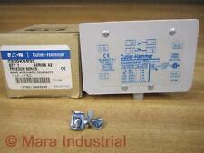 Cutler Hammer C320KGS32 Eaton Auxiliary Contact