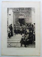 SON OF THE BRAVE 1883 EAU FORTE C.O. MURRAY  Artiste Anglais Contemporain