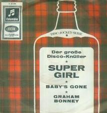 """7"""" Graham Bonney/Super Girl"""