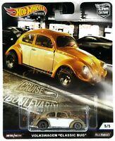 "Hot Wheels Premium 2019 Cruise Boulevard 1:64 VW Volkswagen ""Classic Bug"" Beetle"