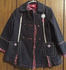 Oilily Matching Coat and Skirt Size 3-4 100% Cotton Perfect condition