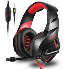 Game Headset Headphone For PS4 Xbox One Nintendo Switch PlayStation +Mic Control