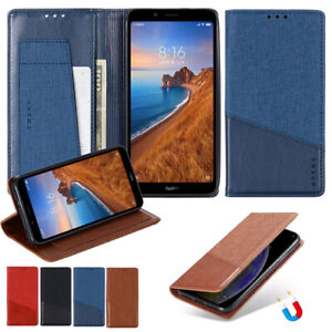 For Xiaomi 11 10 Redmi Note 9 Magnetic Wallet Leather Flip Card Slots Case Cover