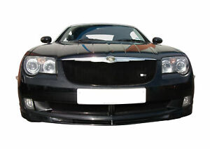 Chrysler Crossfire - Front Grill Set - Black finish (2004 to 2008)