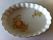 RARE -Midwinter Stonehenge- Flan/ Quich/ Pie dish with fluted edge.