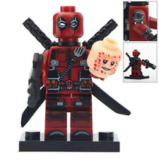 Deadpool Origins - Marvel Universe Lego Moc Realistic Minifigure Gift For Kids