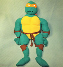 "30"" MICHELANGELO Teenage Mutant Ninja Turtle VINTAGE Plush Stuffed TMNT Animal"