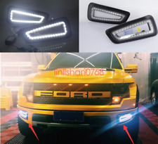2x LED 6000K Fog Light Lamp Daytime Running Light Set For Ford F150 2010-2014