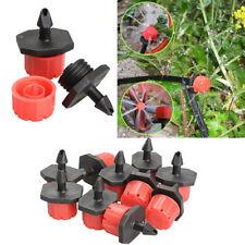 10pcs Drip Irrigation Watering Emitter Micro Flow Dripper Drip Head Barb Garden