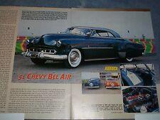 1951 Chevy Bel Air Custom Article Barris Built Vintage 50's Custom