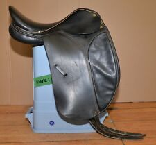 "Collegiate adjustable dressage saddle 17"" made in Argentina show equestrian tool"