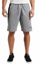PUMA Men's Formstripe Short Gray Heather Size L