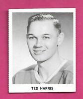 RARE 1965-66 COCA COLA CANADIENS TED HARRIS CARD (INV# C9710)