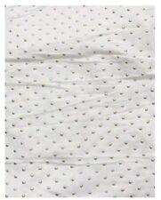Ropa de mujer de color principal blanco de algodón y poliéster