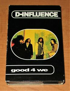 D-INFLUENCE - GOOD 4 WE - CASSETTE TAPE SINGLE - TESTED